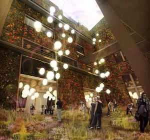 New York City Farm and Culinary Hotel Concept