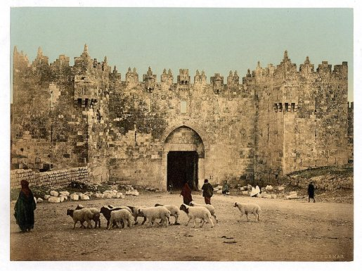 the-damascus-gate-jerusalem 1900