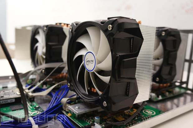 Up-close with a Bitcoin mining powerhouse (VIDEO)