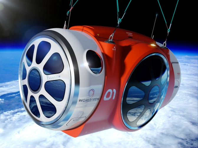 This Luxury Capsule Will Take You on a 5-Hour Long Space Vacation