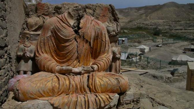 Archeologists are scrambling to excavate a 2,600 year old city before it becomes a Chinese copper mine