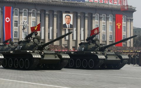 North Korea Moved Some Of Its Most Advanced Weaponry To The Chinese Border In A Sign Of Rising Tensions