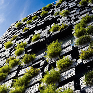 Five examples of vertical gardens – including a preview of the world's tallest