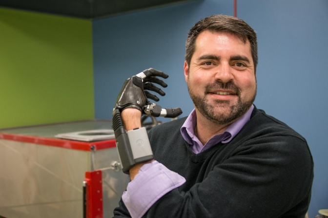 Next-gen artificial limbs help amputees grab onto a better life