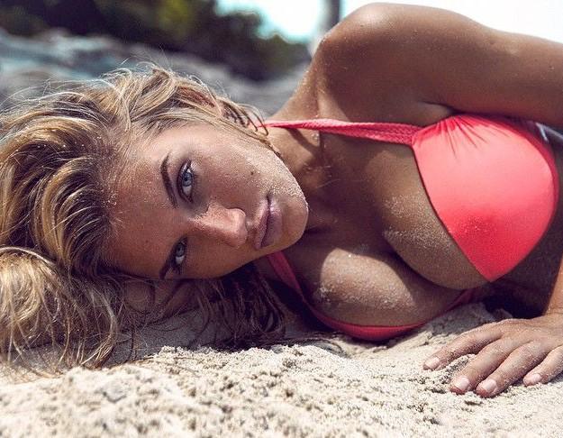 Milana Yuzhakova in Bikini