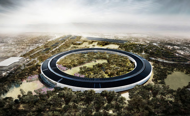 Apple's Spaceship Headquarters With 24 All-New Renderings