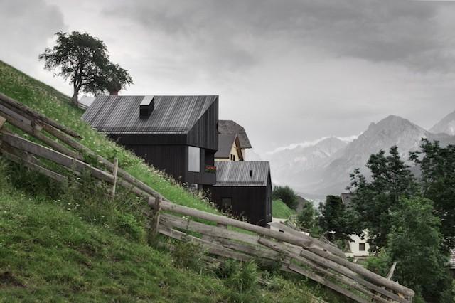 Wooden Home by Pedevilla Architekten
