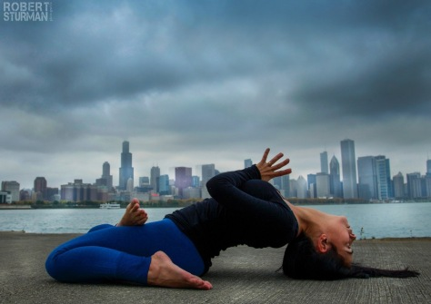 90) Izabel Duarte Olson ~ The Chicago Skyline