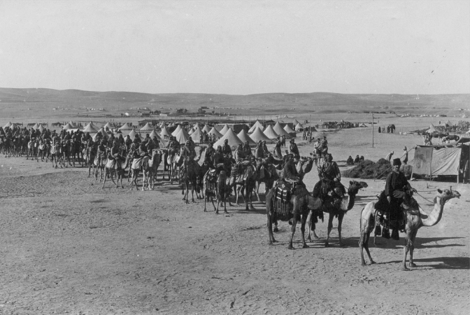 WW100 – The Ottoman-German Attack on the Suez Canal — 1915