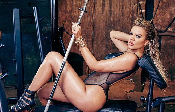 Khloé Kardashian Sexy Pics