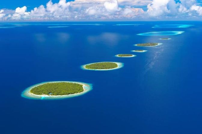 16 astonishing images of islands that could disappear in the next century