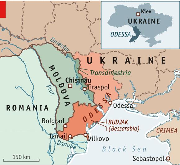 Ukrainian Bessarabia – Towards the unknown region