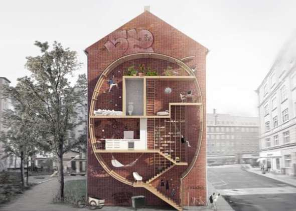 Gap-Filling Urban Abodes