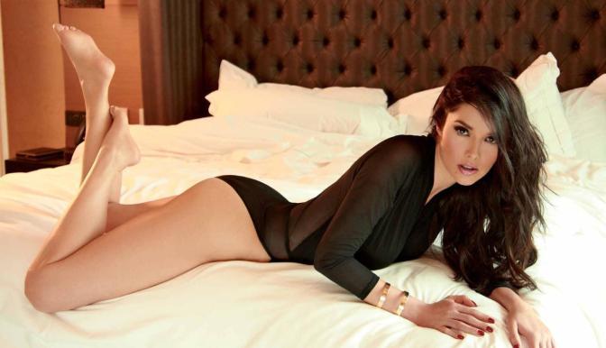 Marlene Favela in Sexy Lingerie