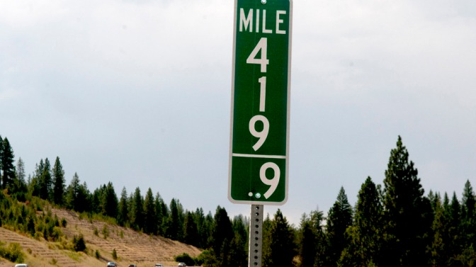 Idaho removes 420 mile marker, much to stoned thieves' dismay