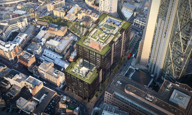 Amazon's Stunning New London HQ Has A Garden On The Roof