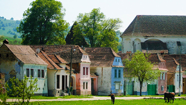 Transylvania's rustic revival lures princes and homebuyers