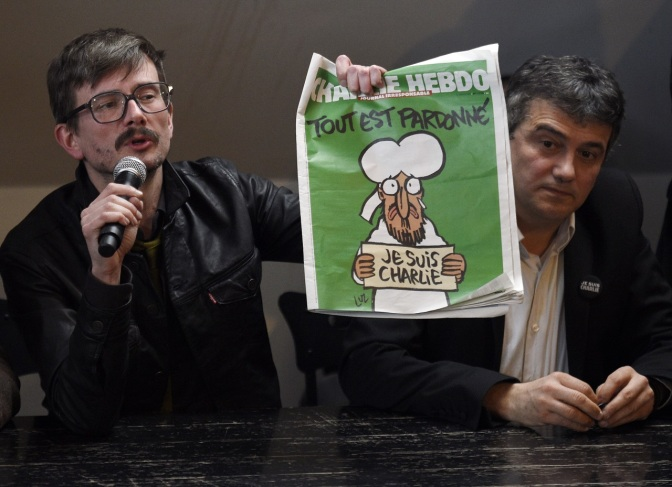 Two survivors of Charlie Hebdo massacre to leave the newspaper