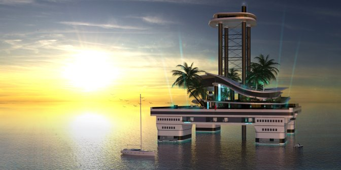 Forget mega-yachts — this mobile private island just upped the ante on billionaire toys