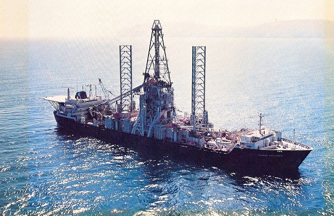 CIA spy ship built to raise Soviet sub becomes victim of oil slump