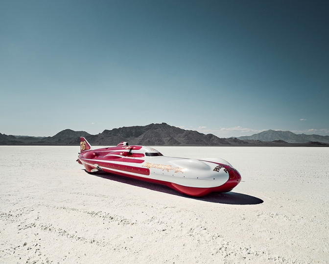 Alexandra Lier Gets Up Close And Personal With Bonneville Speedseekers