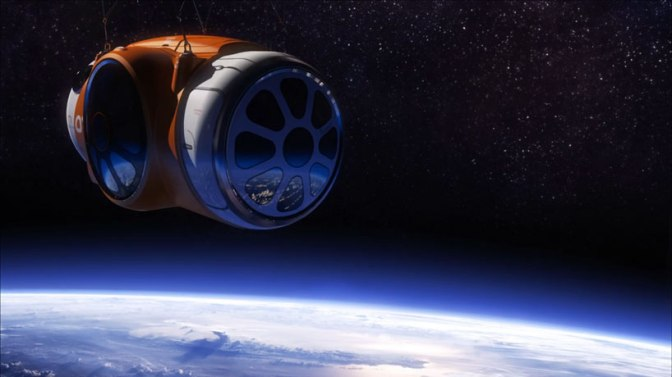 World view takes you into outerspace via balloon