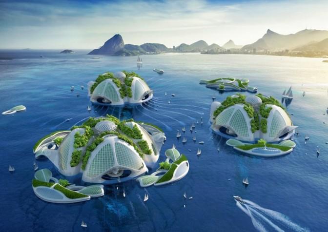 vincent callebaut architectures envisions 3D printed oceanscraper