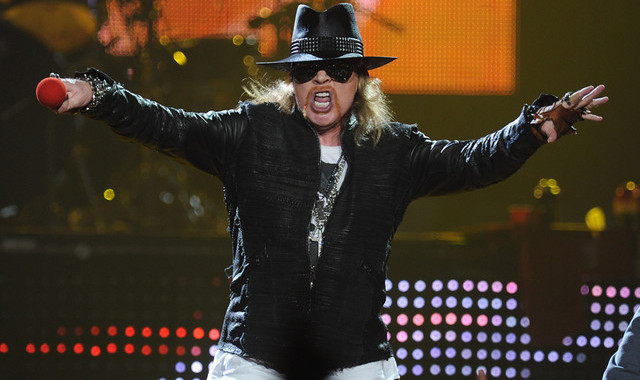Axl Rose reportedly set to replace Brian Johnson as AC/DC frontman for rest of band's tour