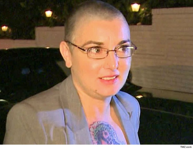 SINEAD O'CONNOR MISSING, POSSIBLY 'SUICIDAL'