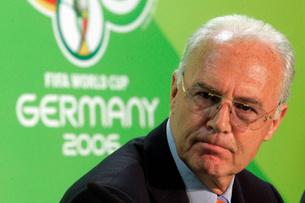 FRANZ BECKENBAUER INVESTIGATED OVER WORLD CUP CORRUPTION
