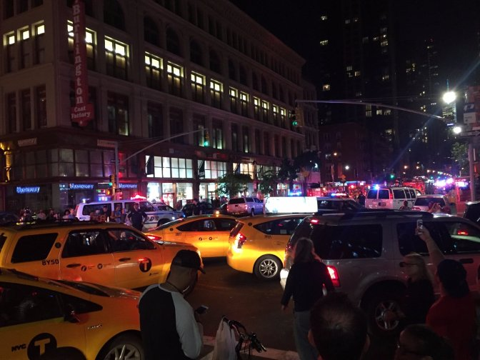 'AN INTENTIONAL ACT': Dozens injured in New York City explosion