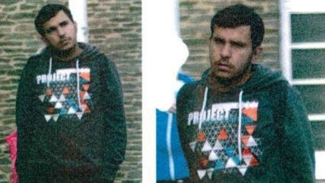 Germany manhunt: 'IS link' to bomb suspect Al-Bakr – police