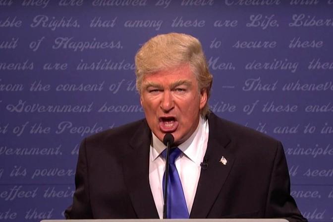 Alec Baldwin's Scarier, Nastier Donald Trump