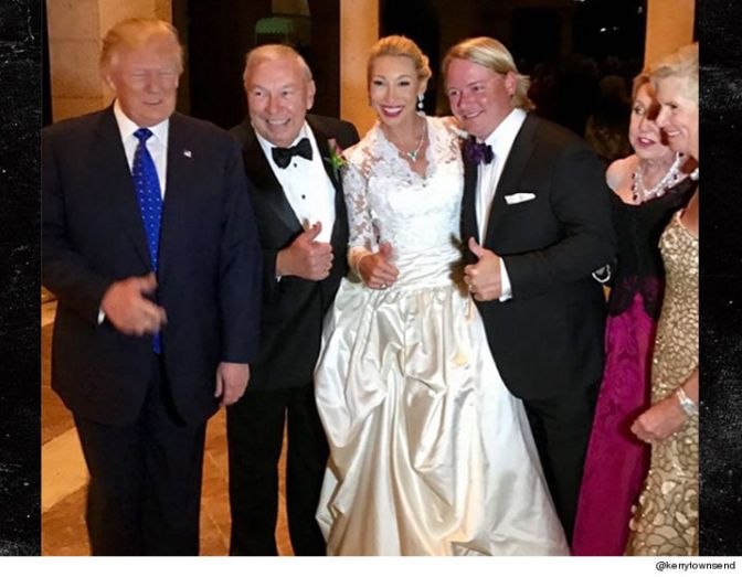 Donald Trump : I'm No Wedding Crasher !!