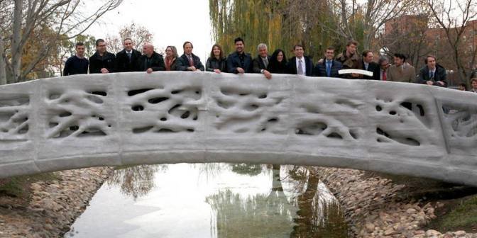 The world's first 3D-printed bridge is the ugliest thing you've ever seen