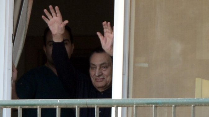 Egypt's Hosni Mubarak freed after six years