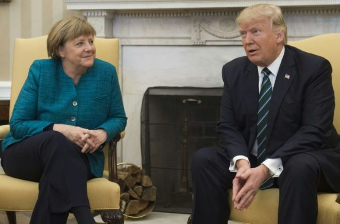 Germany owes NATO 'vast sums': Trump