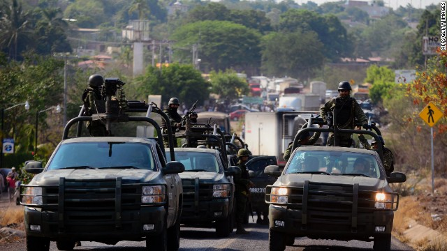 Breaking News: 85 Sinaloa cartel members arrested in U.S.-Mexico border raid