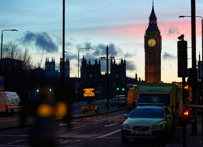 Celebrities react to the terror attack at westminster in london