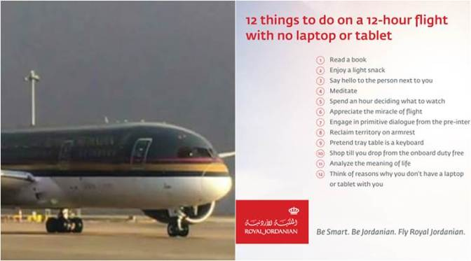 Royal Jordanian Airlines goes sarcastic in response to Donald Trump's latest travel restrictions