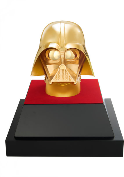 A Solid Gold Darth Vader for the Sith Who Has Everything