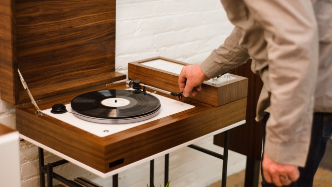Wrensilva's Loft is a Retro-Style Record Console with a Ton of Modern Features