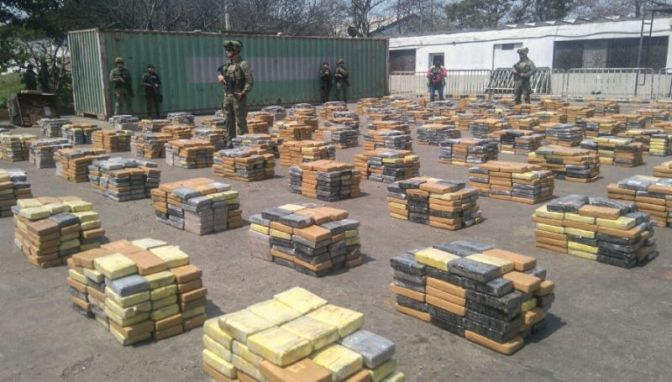 Colombia seizes 6.1 tonne cocaine haul