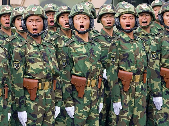 China has sent 150,000 troops to its North Korea border