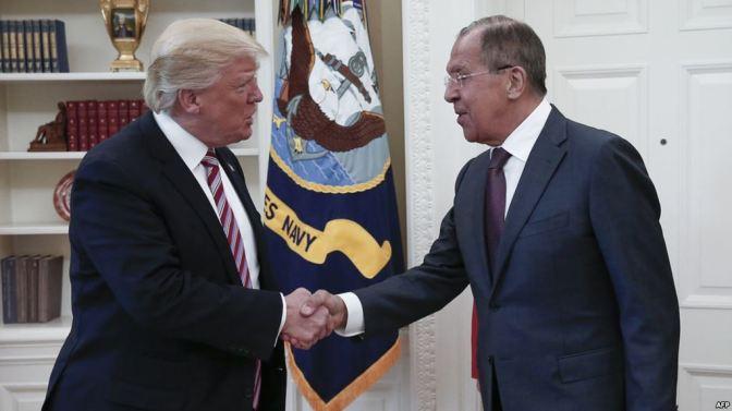 Kremlin 'Cautiously Optimistic' After Lavrov-Trump Meeting