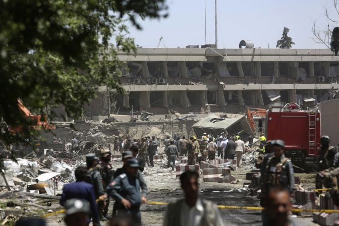 Suicide bomb kills at least 80 and wounds more than 350 in Afghanistan