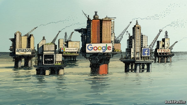 The world's most valuable resource is no longer oil, but data
