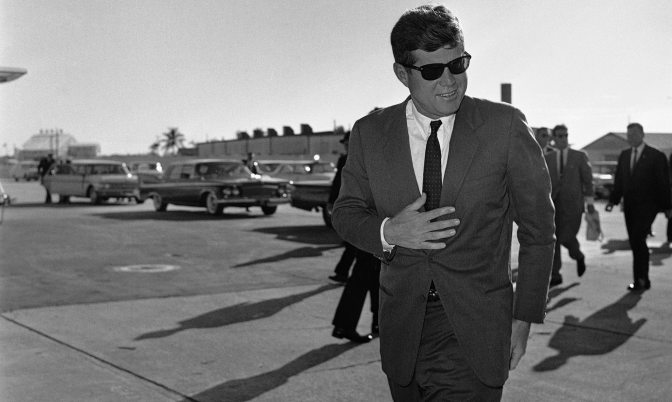 JFK at 100: Trump comparisons fuel nostalgia for 'Camelot'