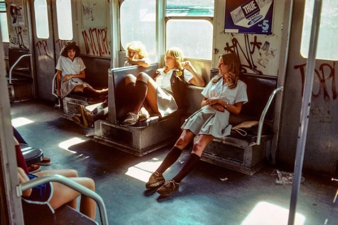 Vintage Photos Reveal the Gritty NYC Subway in the 70s and 80s