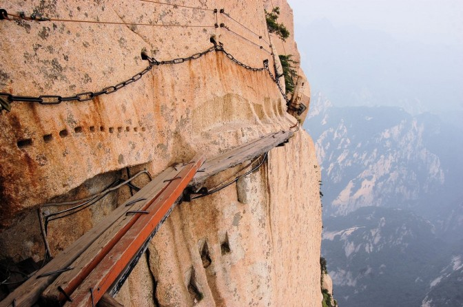 Four of the World's Most Dangerous Trails for the Adrenaline Junkie
